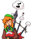 A Link Toots The Pipes