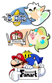 Boltaire and APcP Logos (+ Fanart)