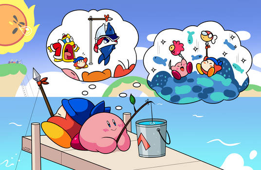 Fishing with Kirby