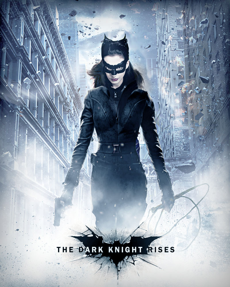 Anne Hathaway Dark Knight Rises: CATWOMAN POSTER By Umbridge1986 On