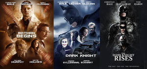 DARK KNIGHT TRILOGY POSTERS