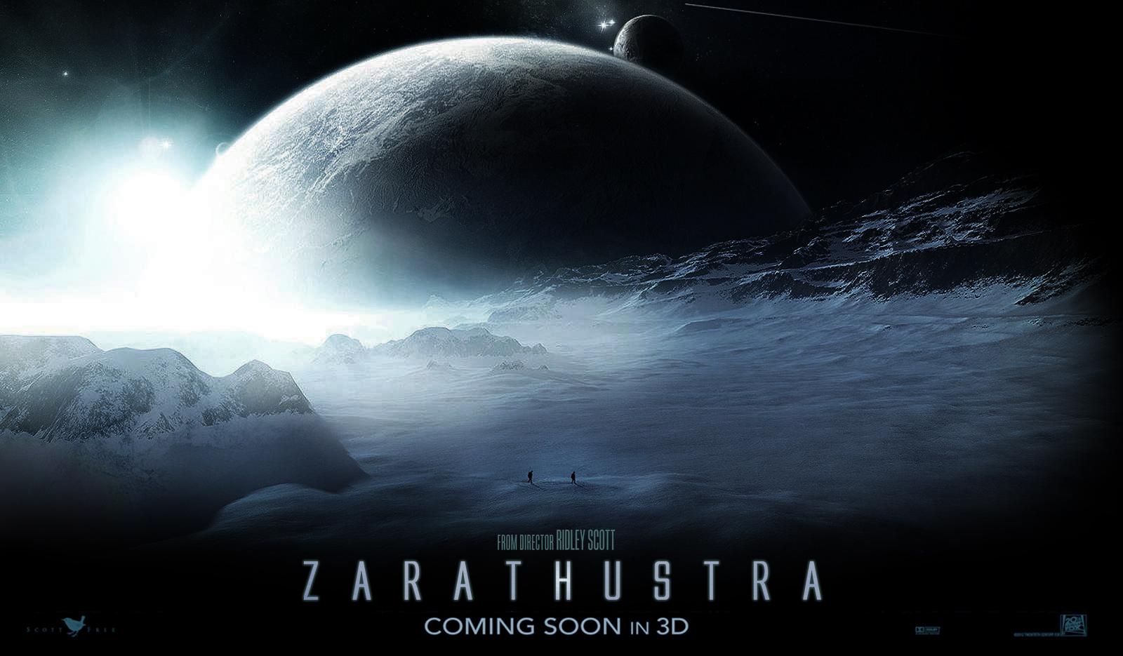 Prometheus 2 teaser - ZARATHUSTRA