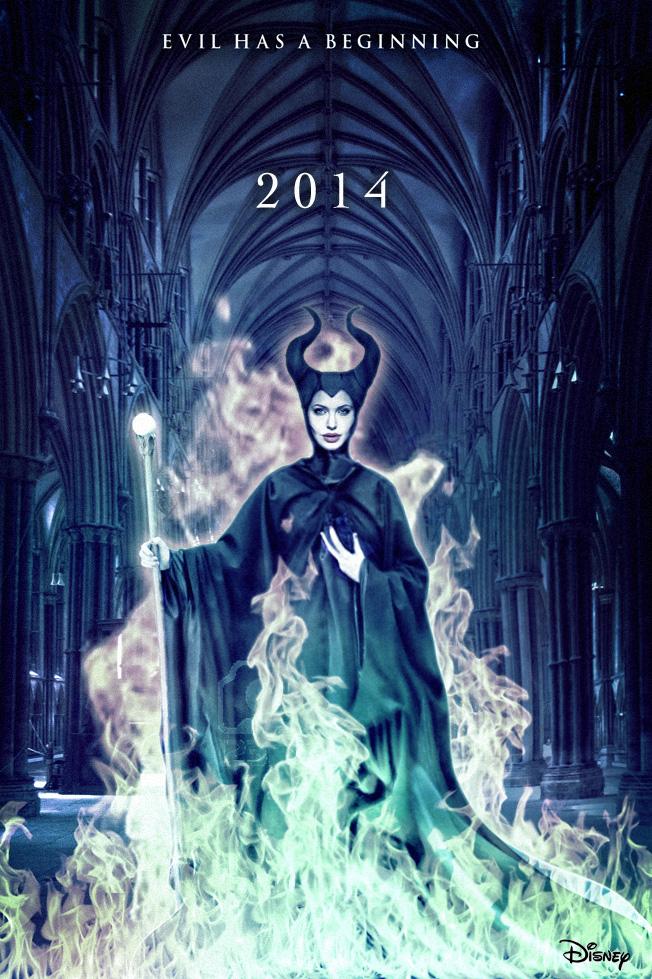 maleficent teaser poster by umbridge1986 on deviantart