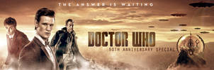 DOCTOR WHO 50TH BANNER by Umbridge1986
