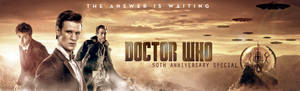 DOCTOR WHO 50TH BANNER