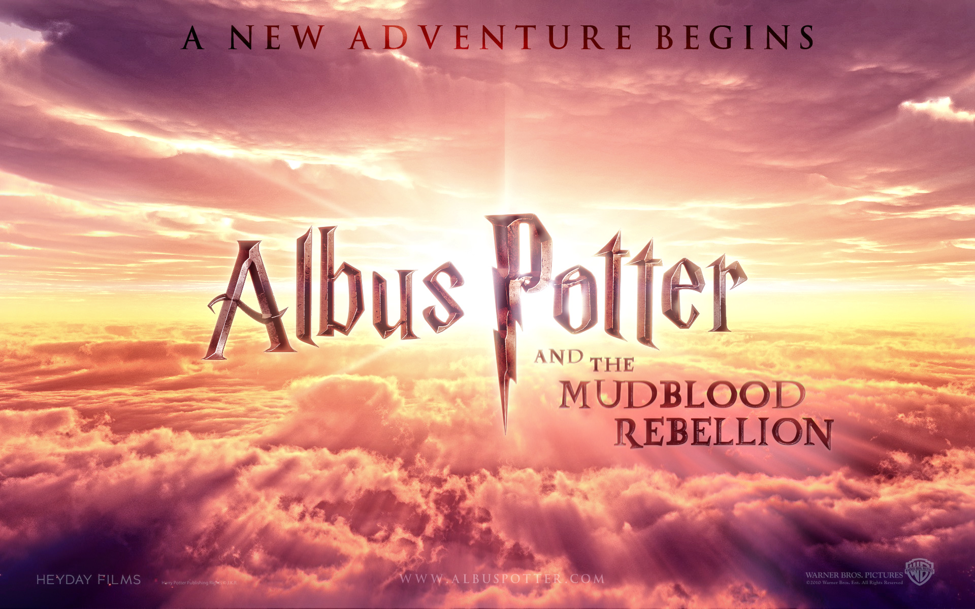 Albus Potter and the Mudblood Rebellion