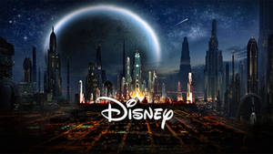 STAR WARS EPISODE 7 Coruscant Disney logo
