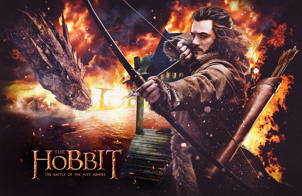 THE HOBBIT BATTLE OF THE FIVE ARMIES TEASER POSTER by ...