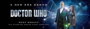 DOCTOR WHO SERIES 8 POSTER 2