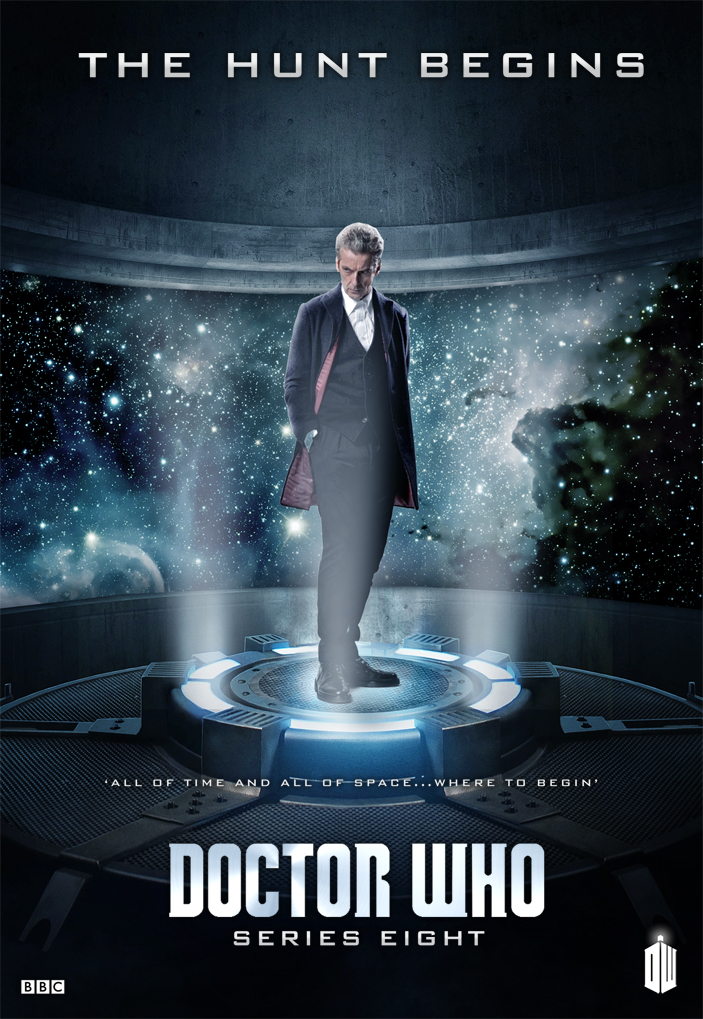 DOCTOR WHO SERIES 8 - THE HUNT Poster by Umbridge1986