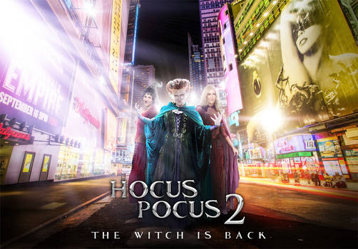 Hocus Pocus 2 : The Witch is Back
