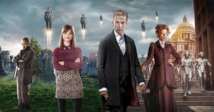 DOCTOR WHO 10TH ANNIVERSARY BANNER - 12th Doctor by Umbridge1986