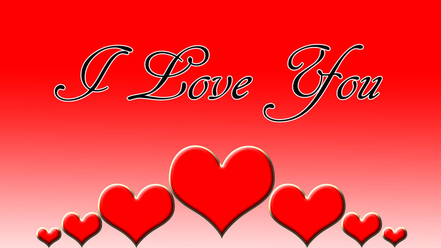 Love Wallpaper I Love You : I Love you Wallpaper 2 by Tveilor on DeviantArt
