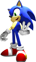 Modern Sonic in Sonic Advance 2