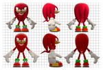 Knuckles the Equidna Reference Sheet
