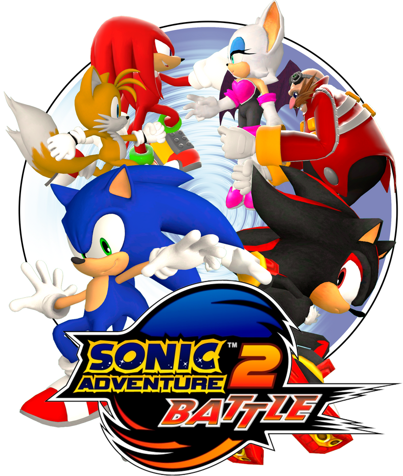 Sonic Adventure 2: Battle Logo by Lucas-da-Hedgehog