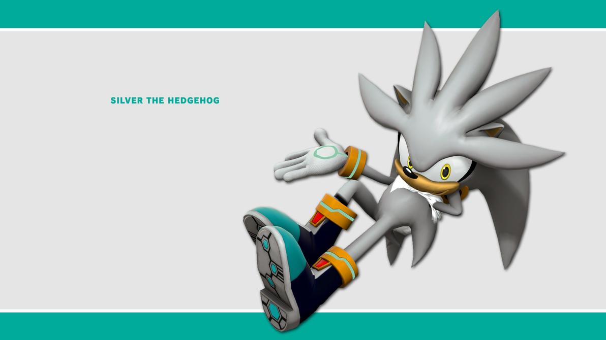 Sonic Channel Wallpaper 2011 Silver By Lucas Da Hedgehog