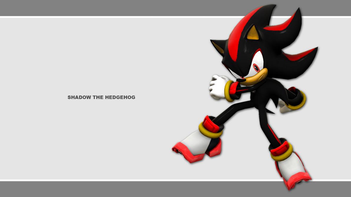 Sonic Channel Wallpaper 2011: Shadow by Lucas-da-Hedgehog