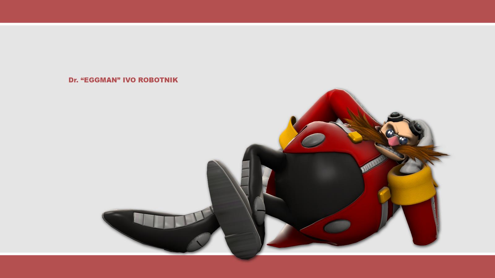Sonic Channel Wallpaper 2011: Eggman by Lucas-da-Hedgehog