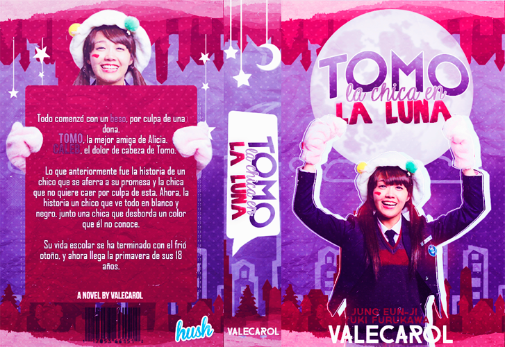 Tomo,the girl on the moon |book cover| by valecarol