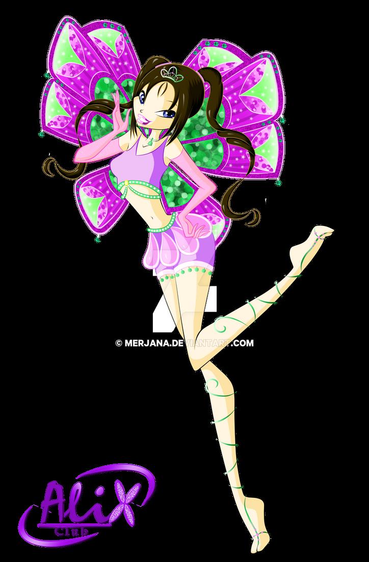 Alix Club-Jenny- Enchantix by merjana