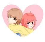 (C:)  Adorable lovers