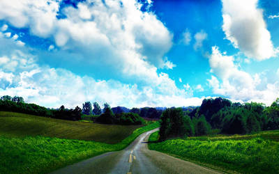 Sky Road by Seph-the-Zeth