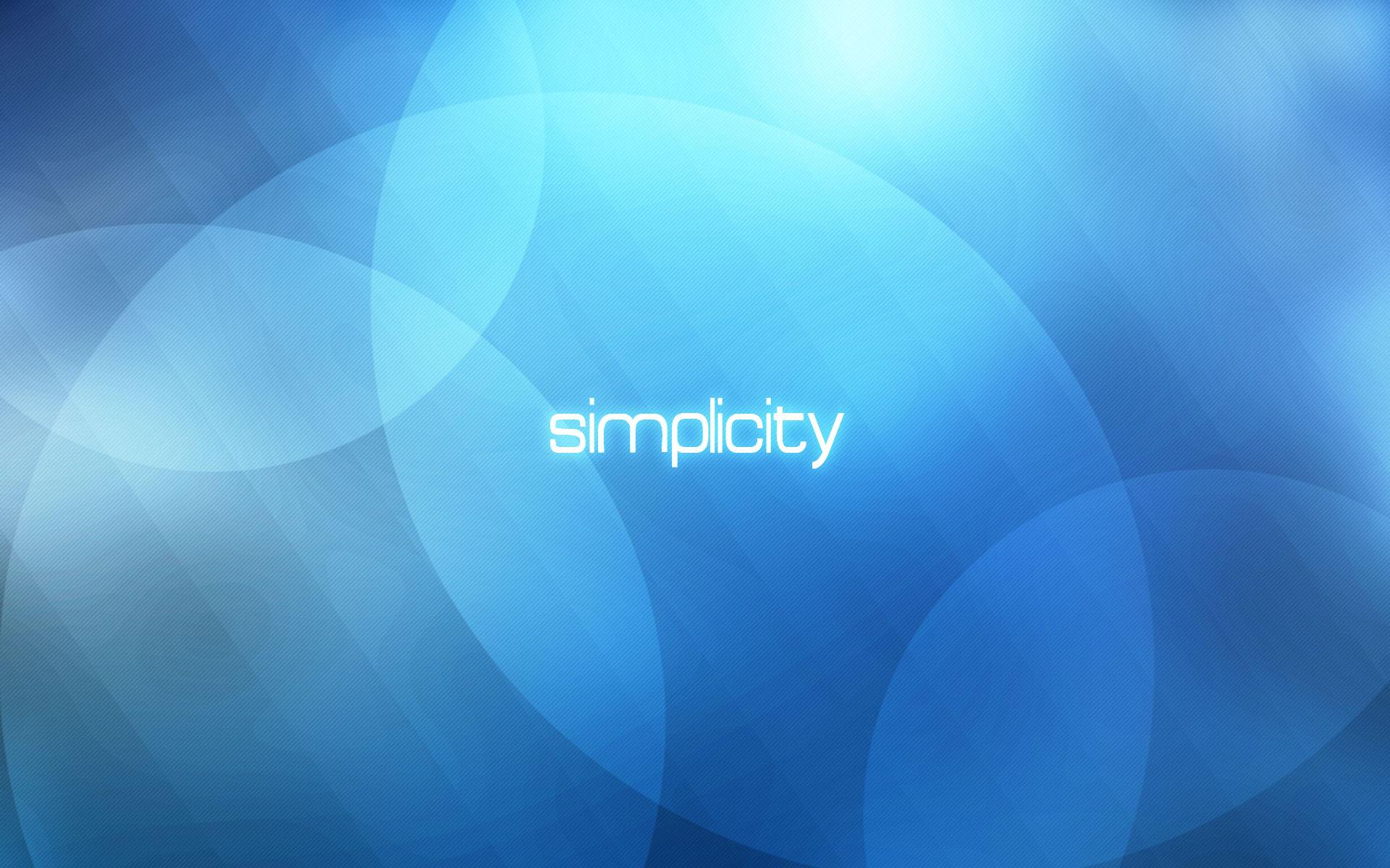 Simplicity wallpaper - 228464
