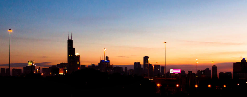 Chicago Sunrise by Seph-the-Zeth