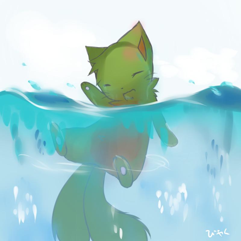 BATH TIME by grovyle-sama