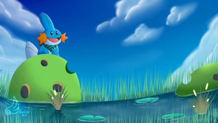 = FanArt= Pokemon Mystery Dungeon - Peanut Swamp by NekoriSNF