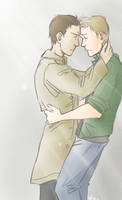 Spn: Destiel by Nevheera