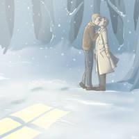 SPN: In the snow by Nevheera