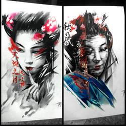 Geisha Ver001 002 by BoogyWoogy