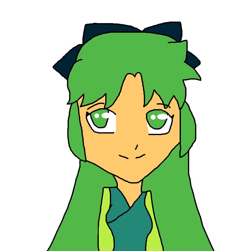 Human Emerald Cube Or Jade (Green) by Phoebeartfulgirl992