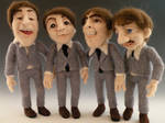 The Beatles - Needle Felted