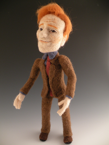 Li'l Conan O'Brien - Felted by FeltAlive