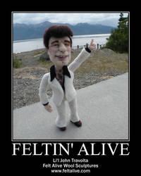 Li'l Travolta by Felt Alive