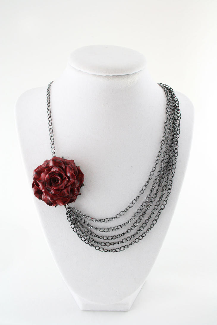 product necklace lauren squires asymmetrical
