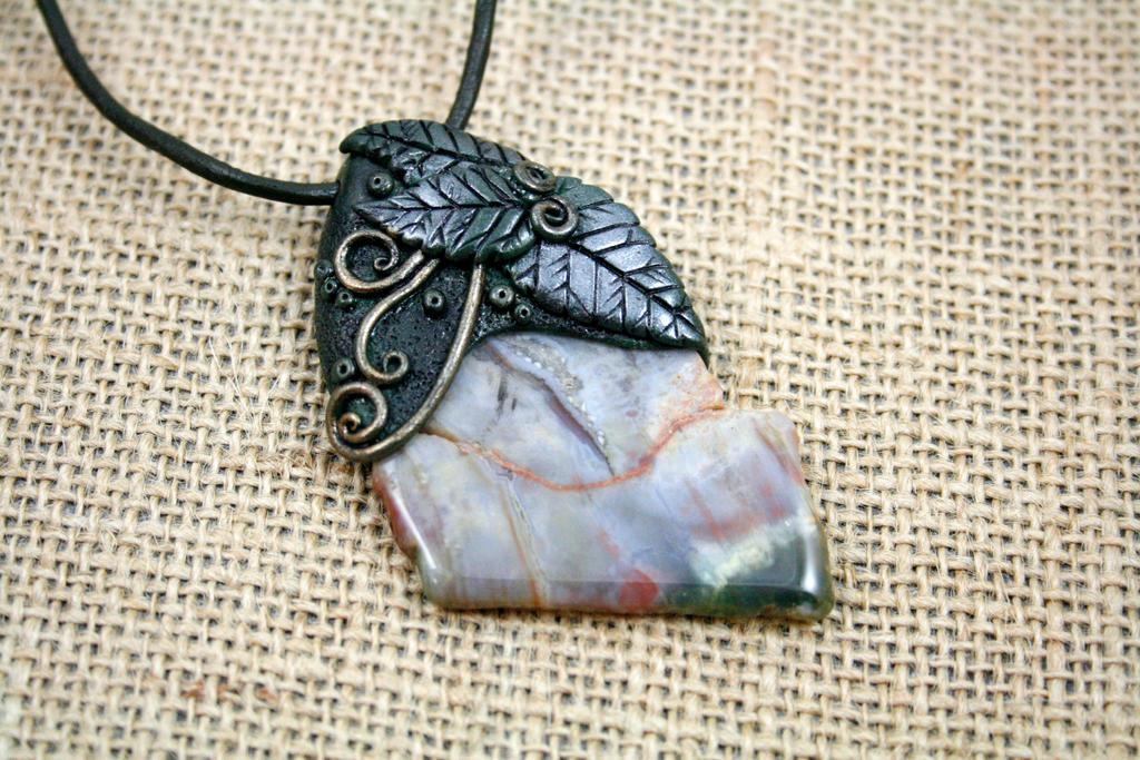 Rainbow beach polymer clay necklace by artfulparadox on deviantart rainbow beach polymer clay necklace by artfulparadox mozeypictures Images
