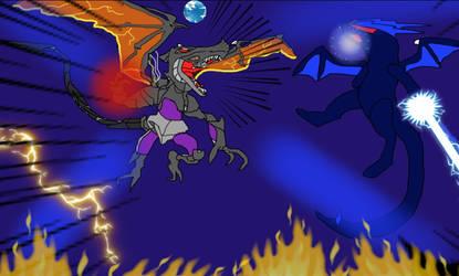 Omega Ridley vs OmegaRapty edited by firebird97