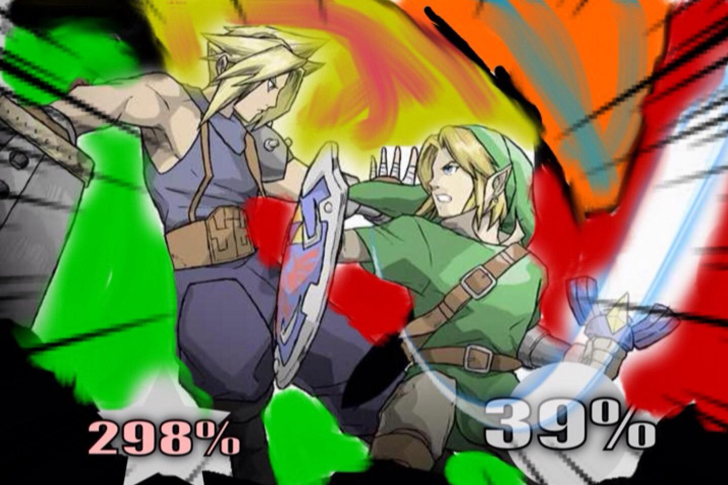 Link vs Cloud by firebird97