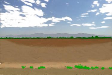 Field and Sky by firebird97