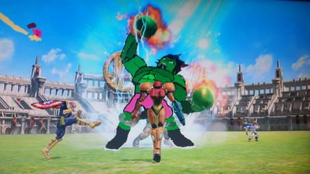 Smash Bros Avengers by firebird97
