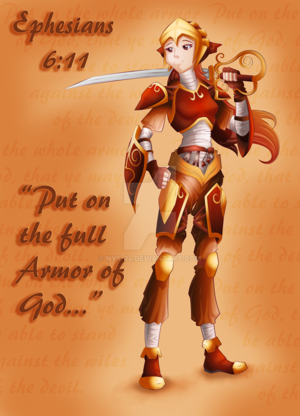 Put on the Full Armor of God by NYX-34