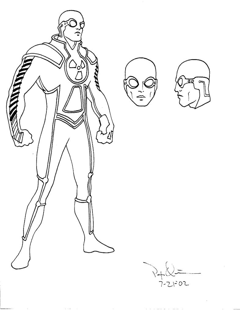 Line Art Character : Solar character design line art by patquinn pqcomics