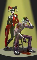 Harley and Mr. J by Nato-VanDookie