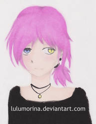 Colored Charcoal Sample by lulumorina