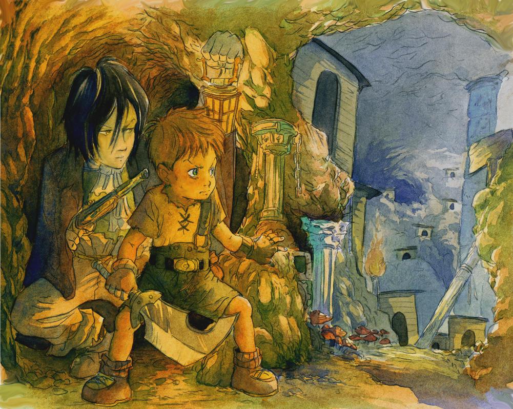 Underground goblin's city by ChencoIlufi