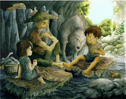 Hermit refuge by Moonshen